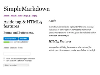 Simple Markdown